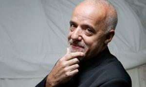 Bestselling author Paolo Coelho.
