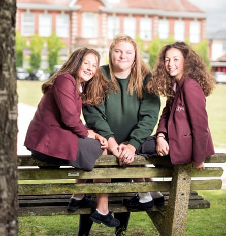 Hannah Cox, Libby Shirnia and Jess Hourston