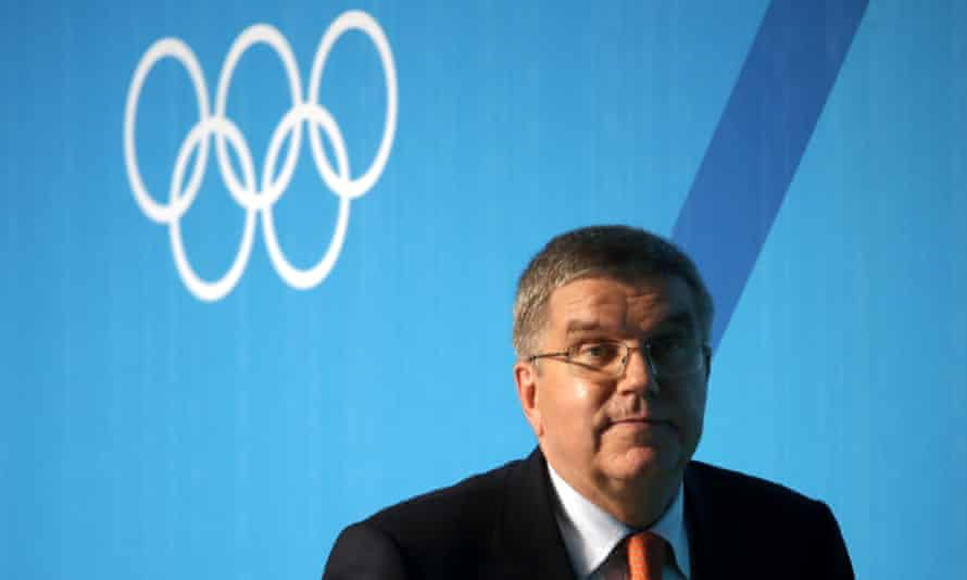 The IOC president, Thomas Bach, said: 'For me, after this decision, you have to be able to look into the eyes of all the athletes and during my many visits to the village here in Rio I have been looking into eyes of many athletes.'