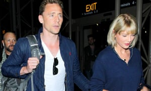 with Tom Hiddleston in 2016