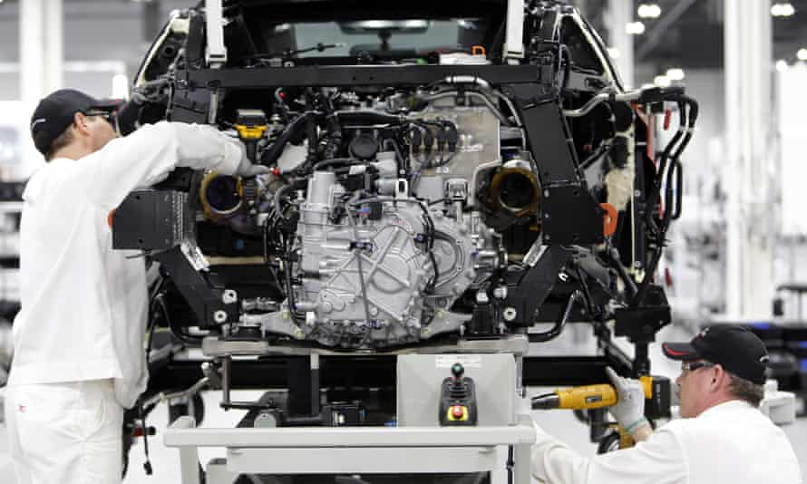 car manufacturing works