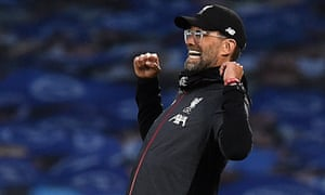 Jürgen Klopp has now guided Liverpool to 30 victories in 34 league matches this season.