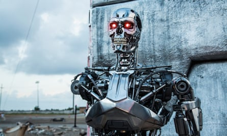 The T-800 from the Terminator film franchise.