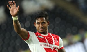 St Helens' star full-back Ben Barba sealed the win as the visitors showed signs of their imposing early-season form.