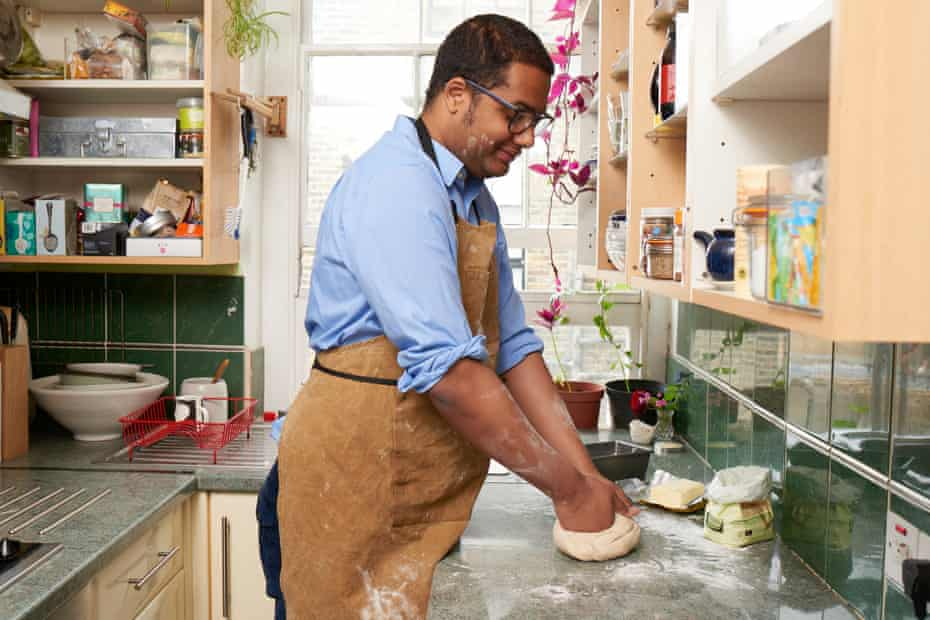 """Stephen Bush... the cook?: 'Somewhere between boiling eggs and making souffles, I picked up from Delia what I think of as """"cook's grammar"""" – the ability to improvise...'"""