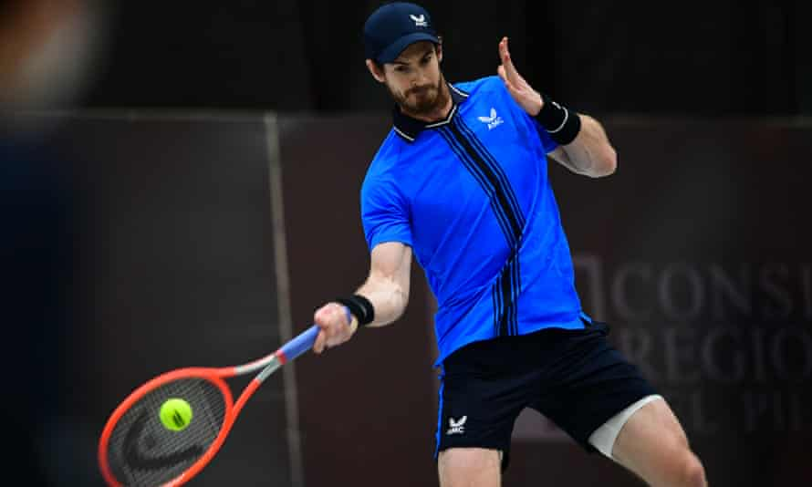 Andy Murray was beaten in straight sets in the ATP Challenger final in Italy.
