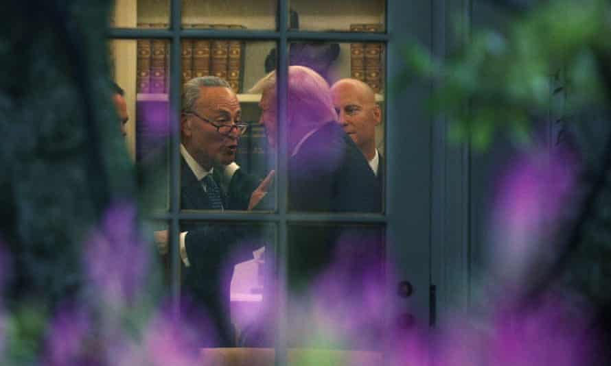 Chuck Schumer also met with Trump in the Oval Office on 6 September.