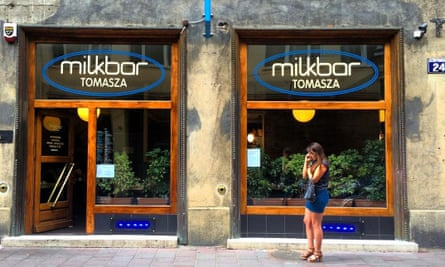 Milkbar Tomasza, Krakow, Poland