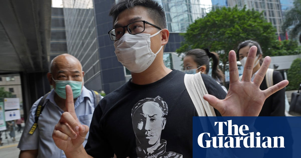 Hong Kong democracy activists jailed for illegal assembly in 2019 protests