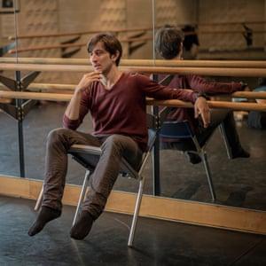 Choreographer Valentino Zucchetti