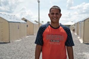 Migrants camp Venezeula Boa Vista