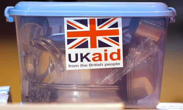 DfID will now spend only 70% of UK aid.