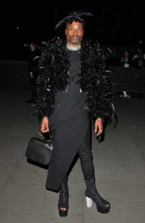 Billy Porter at Fashion for Relief's show at London fashion week spring/summer 2020