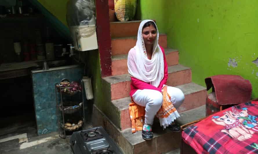 Komal Hadala at her home in Nithora village, near Ghaziabad, Uttar Pradesh