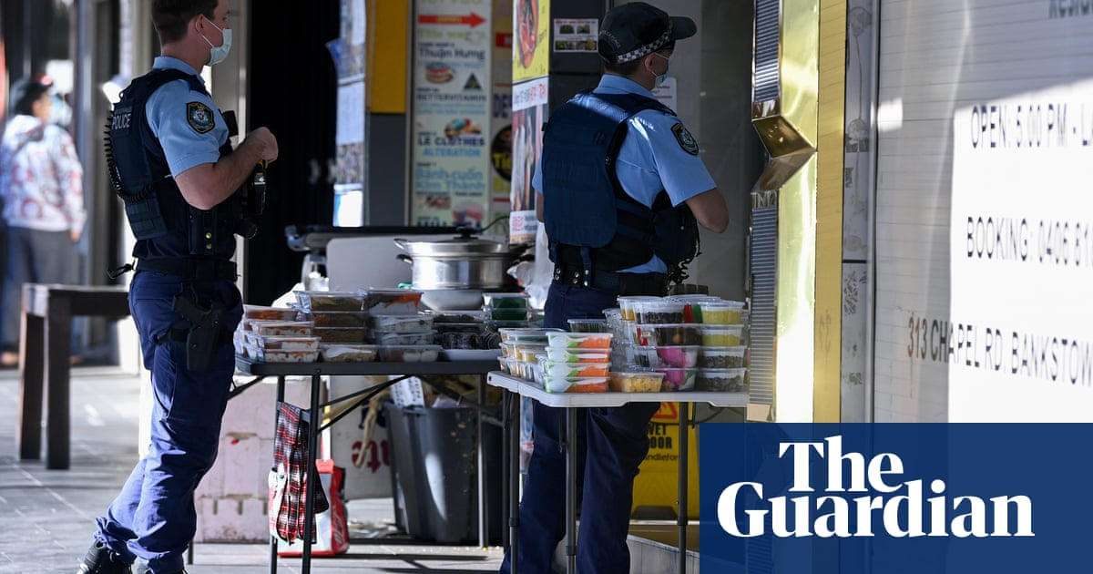 NSW police fine 600 people on first day of Covid crackdown blitz