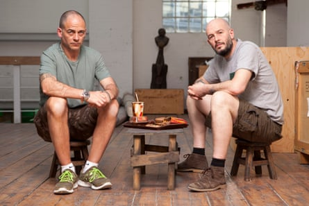 Jake and Dinos Chapman. Photograph: Nic Serpell-Rand