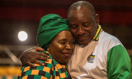 Nkosazana Dlamini-Zuma congratulates Cyril Ramaphosa on his election as president of South Africa.