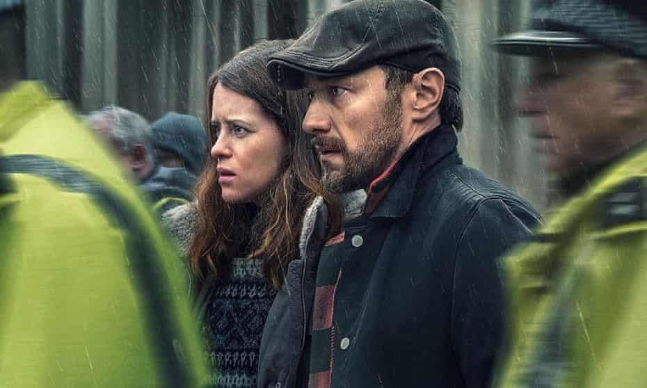 Claire Foy and James McAvoy in My Son.
