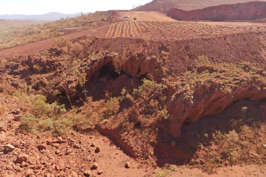 Image released by the PKKP Aboriginal Corporation shows Juukan Gorge in Western Australia -- one of the earliest known sites occupied by Aboriginals in Australia.