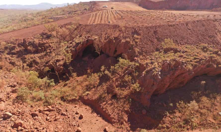 Juukan Gorge in Western Australia