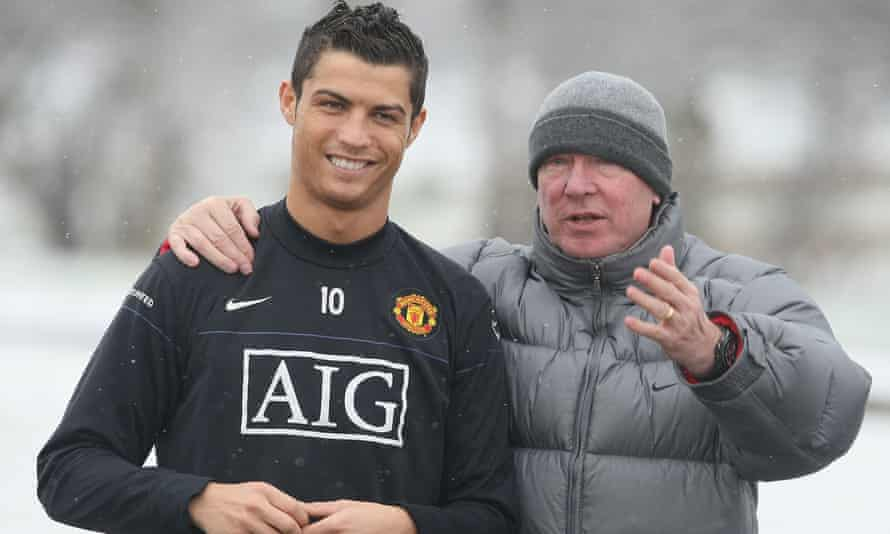 Sir Alex Ferguson named Cristiano Ronaldo as the greatest player he managed at Manchester United
