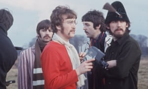 The Beatles, in Knole Park, Sevenoaks shooting a promotional film for Strawberry Fields from the Magical Mystery Tour Album, 1967