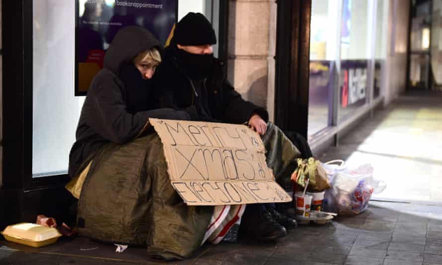 Tidings Padel homeless people London