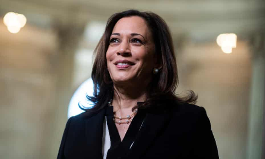 Kamala Harris: 'I feel a very big sense of responsibility … I will be the first, but I will not be the last.'