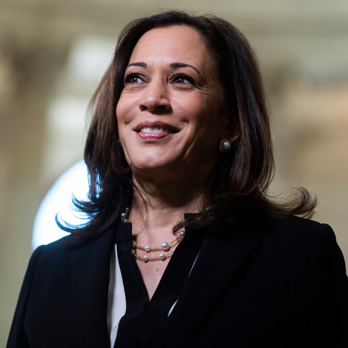 Kamala Harris Makes History As First Woman Of Color Elected Us Vice President Us News The Guardian