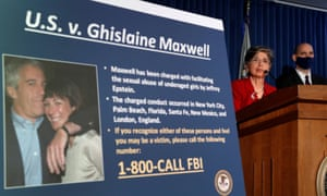 Prosecutors have charged Ghislaine Maxwell with involvement in Jeffrey Epstein's sex-trafficking ring.