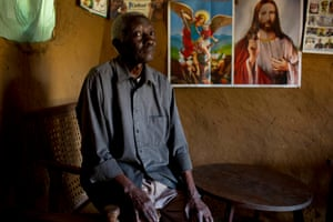Papa Kambale, former teacher, DRC