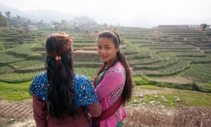 Sajita Tamang was married at 14 and is now separated from her abusive husband. She has a 17-month-old baby.