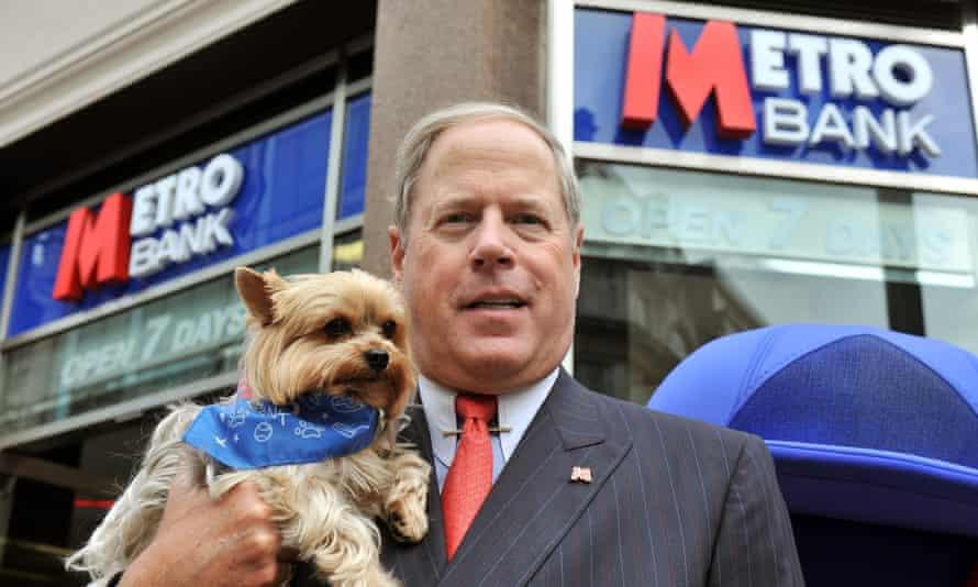 Metro Bank founder Vernon Hill