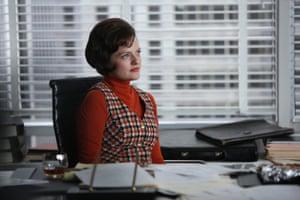 Elisabeth Moss as Peggy Olson