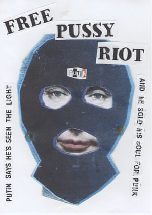 Reid's collaboration with Pussy Riot.