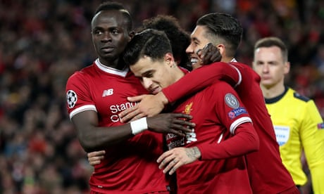 Philippe Coutinho leads Liverpool's merry band of inspired attackers | Andy Hunter