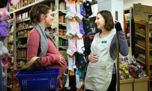 Jessica De Gouw and Laura Carmichael in The Secrets She Keeps