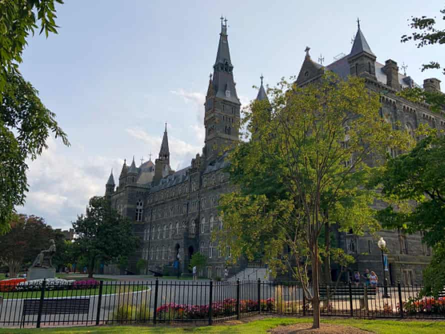 Georgetown University in Washington DC was also named in the case.