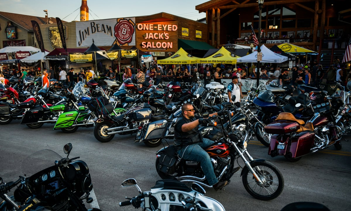 Thousands of bikers heading to South Dakota rally to be blocked at ...