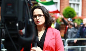 Rana Rahimpour, a British BBC journalist working for its Persian service, was not able to board a US flight due to her dual Iranian nationality.