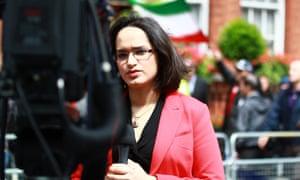 BBC Persian presenter Rana Rahimpour