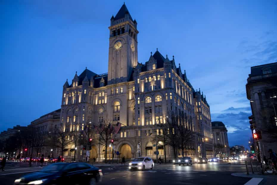 The Trump International Hotel: ' I don't know anybody who goes there or has gone there,' said one local author and journalist.