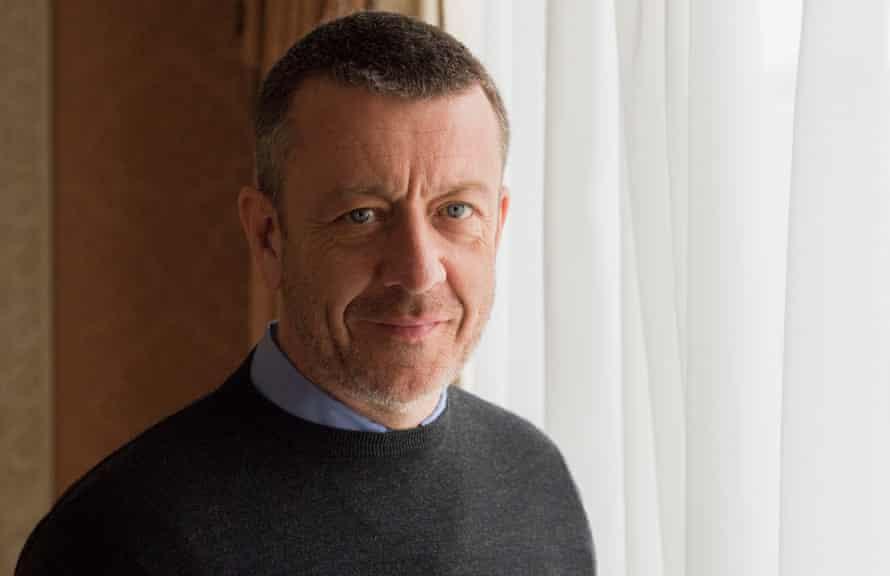 The Crown's creator Peter Morgan
