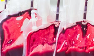 Army Blood Transfusion Service (CTSA) in Clamart, France - 23 May 2014<br>Mandatory Credit: Photo by Burger/Phanie/REX/Shutterstock (3773409g) Blood bags, donor blood processing, Army Blood Transfusion Service (CTSA) Army Blood Transfusion Service (CTSA) in Clamart, France - 23 May 2014