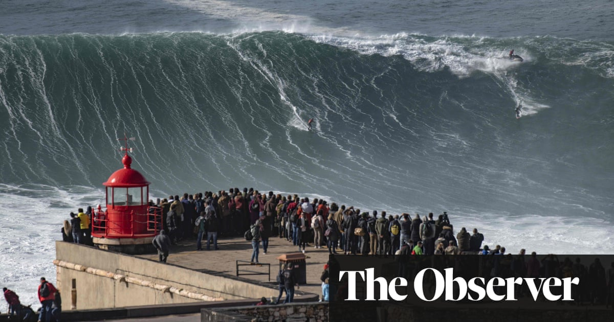 Riding the giant: big-wave surfing in Nazaré