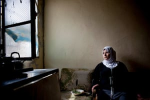 Fatime Sowan, 33, fled from Syria three years ago with her three children and mother-in-law