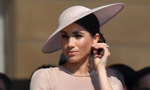 Meghan at the Prince of Wales's 70th birthday garden party at Buckingham Palace.
