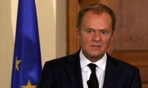 The European council president, Donald Tusk, above, will field queries over refugee quotas at Wednesday's summit.