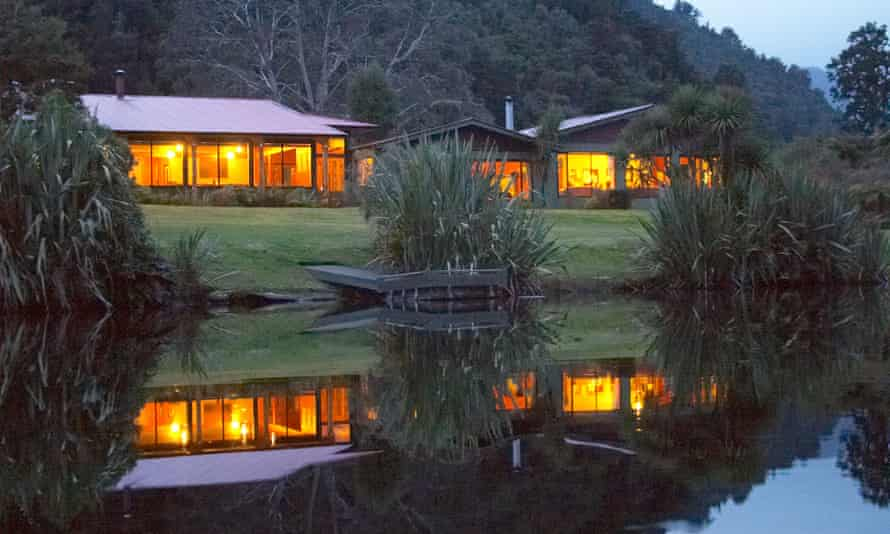 Wilderness Lodge, Lake Moeraki, New Zealand