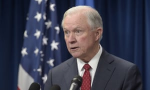 Jeff Sessions has urged prosecutors 'to employ the full complement of federal laws to address the problem of violent crime in your district'.